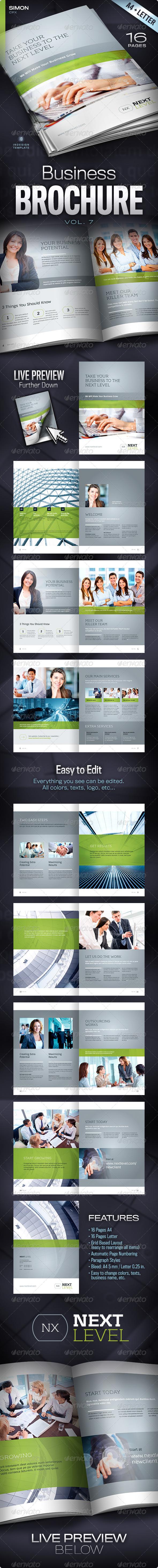 Business Brochure Vol. 7 - Corporate Brochures