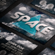 Space Night Creative Business Card - GraphicRiver Item for Sale