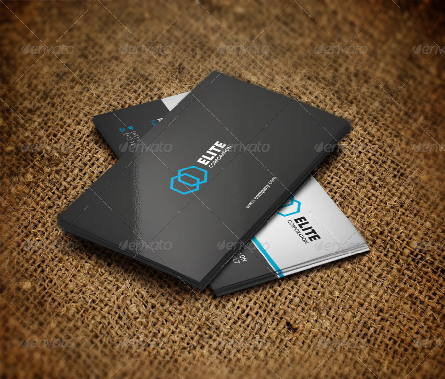 Simple and Clean Business Card 8
