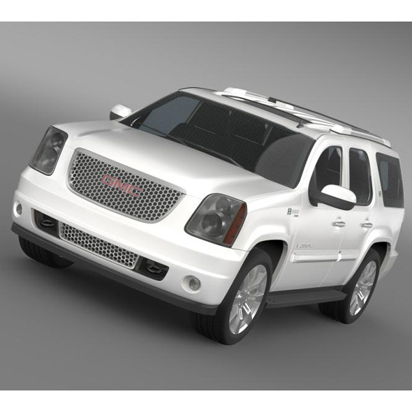 GMC Denali Hybrid 2013 - 3DOcean Item for Sale