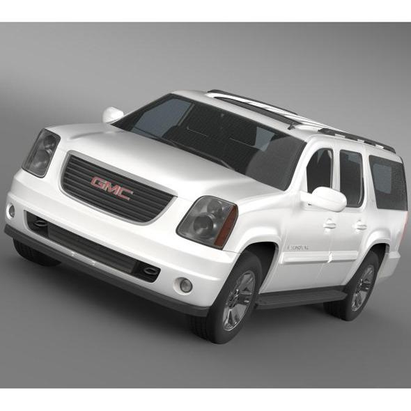 GMC Yukon XL - 3DOcean Item for Sale