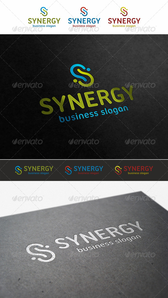 Synergy - S Logo - Letters Logo Templates