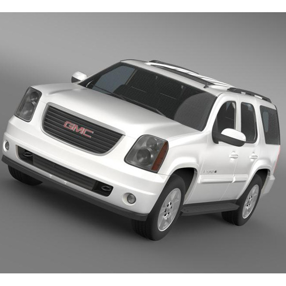 GMC Yukon XFE 2009 - 3DOcean Item for Sale