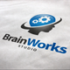 Brain Works Logo - GraphicRiver Item for Sale