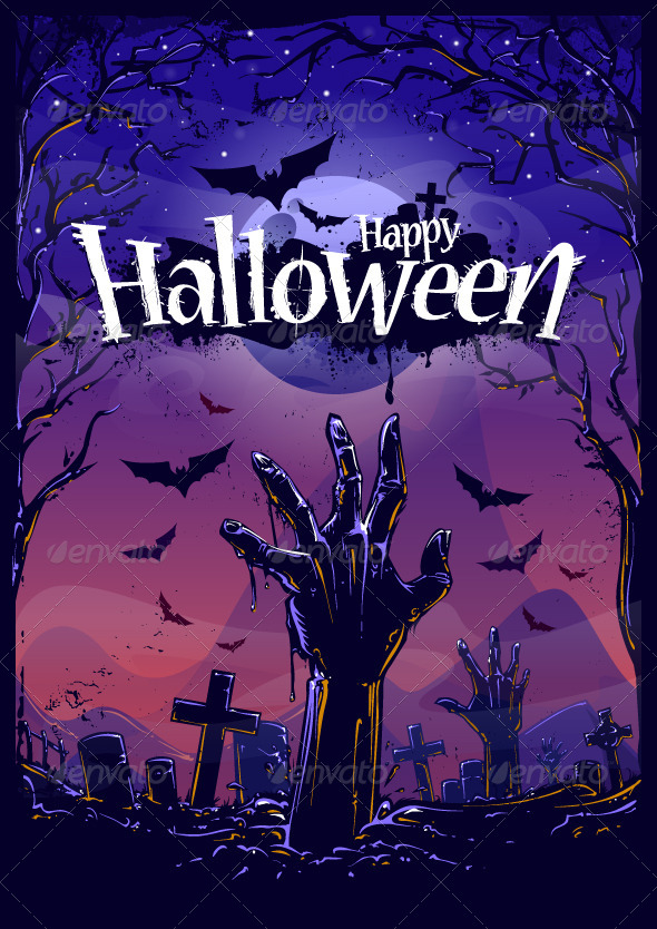 Halloween Background by Vecster GraphicRiver