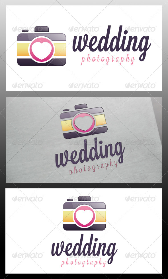 Wedding Photo Logo Template - Objects Logo Templates