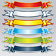 Set of Colorful Ribbons and Banners. Vector Image - GraphicRiver Item for Sale