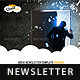 Cloud Creative Multipurpose E-newsletter Template  - GraphicRiver Item for Sale