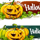 Grunge Halloween Banners - GraphicRiver Item for Sale