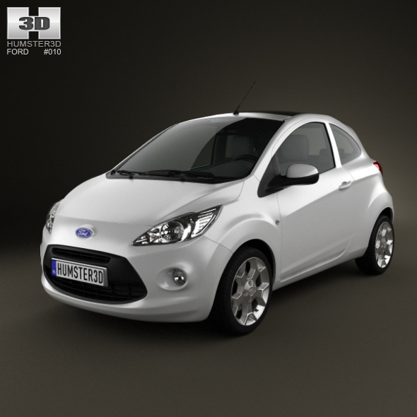Ford Ka 2009  - 3DOcean Item for Sale
