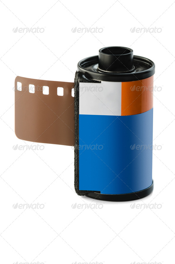 35 mm negative film - Stock Photo - Images