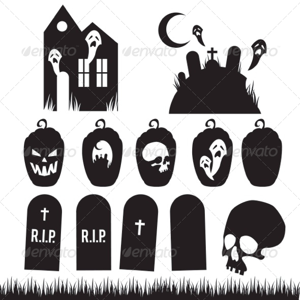 Full Halloween Vector Pack by mrnrobinson | GraphicRiver
