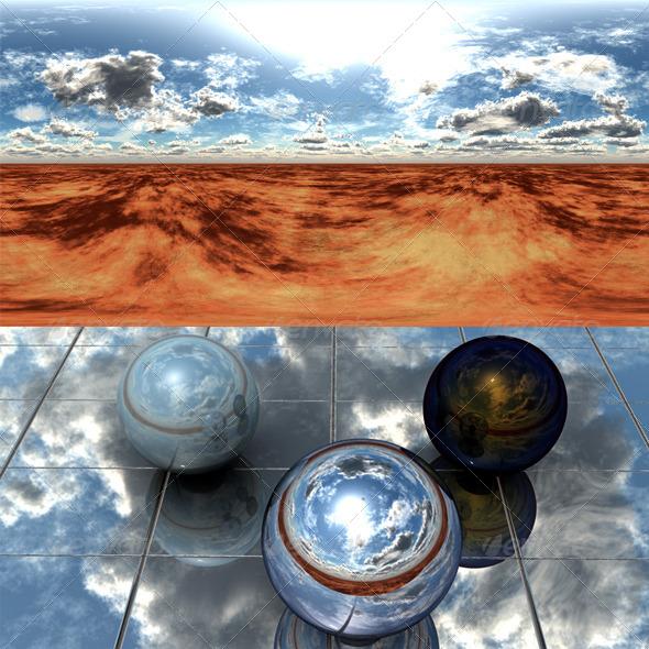 Desert 55 - 3DOcean Item for Sale