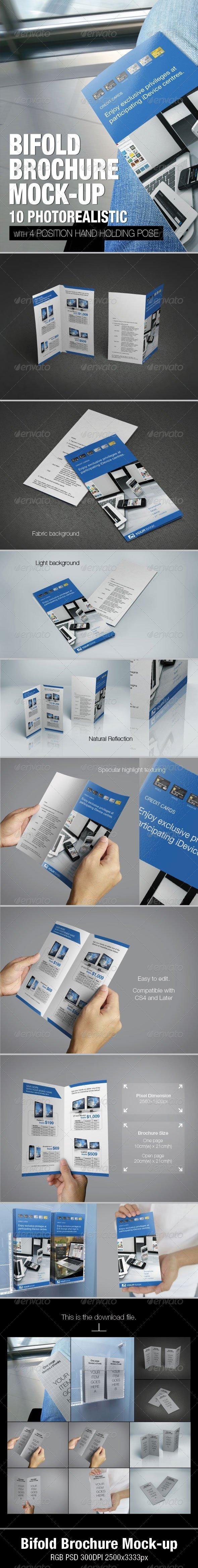 Bifold Brochure Mock-up - Brochures Print