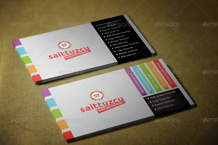 st color business card - Best Colors For Business Cards