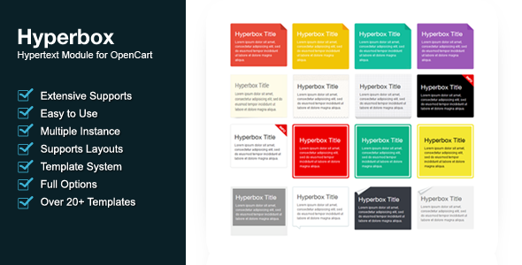 Hyperbox - Hypertext Module For OpenCart - CodeCanyon Item for Sale