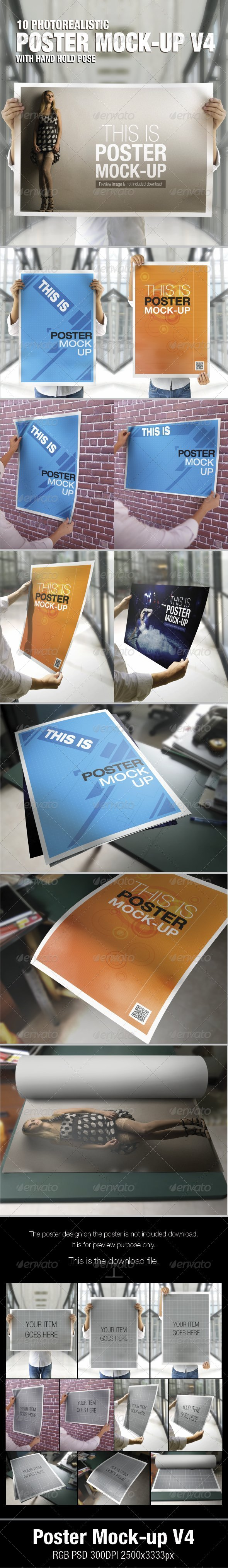 Poster Mock-Up V4 - Posters Print