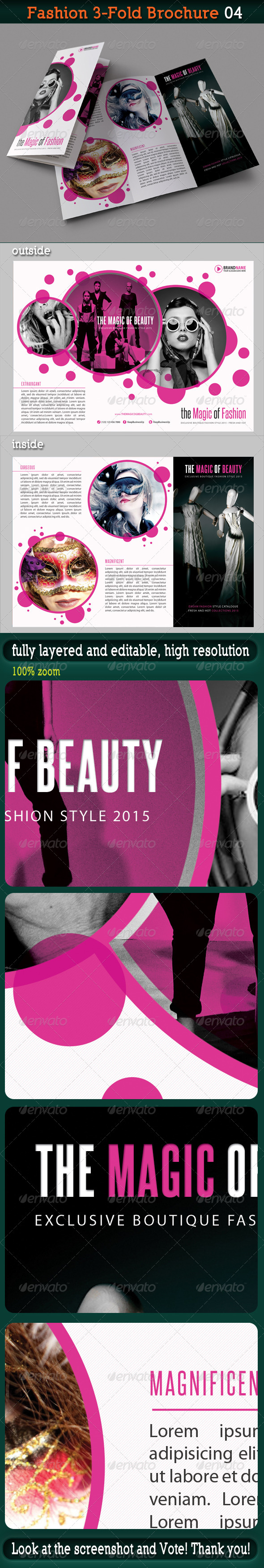 Fashion 3-Fold Brochure 04 - Catalogs Brochures