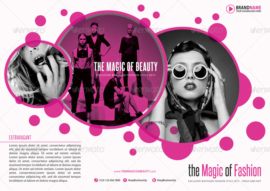 Fashion 3-Fold Brochure 04 by rapidgraf | GraphicRiver