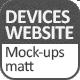 Devices website Mock-ups matt - GraphicRiver Item for Sale