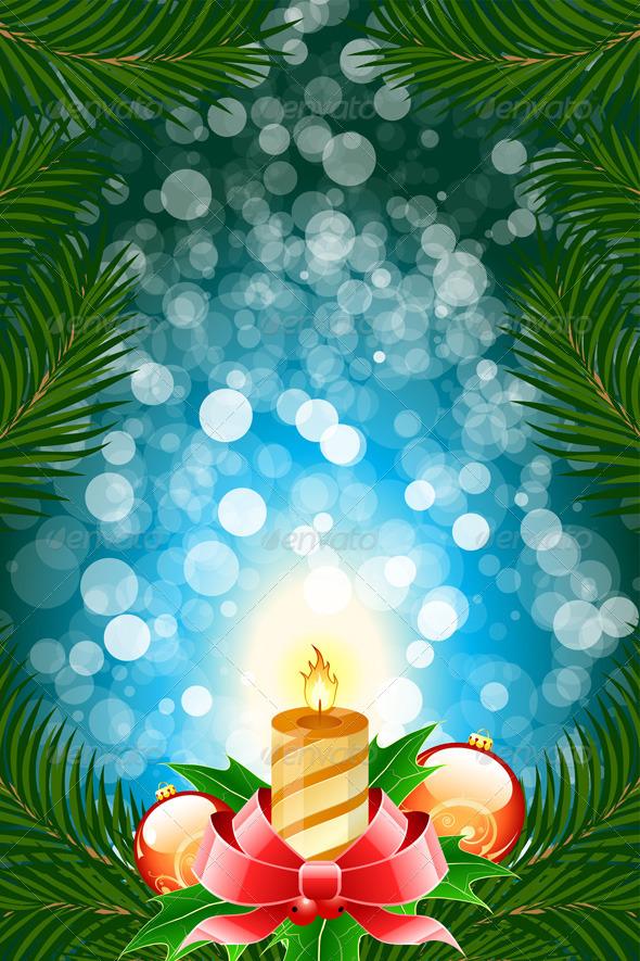 Winter Christmas Card - Christmas Seasons/Holidays