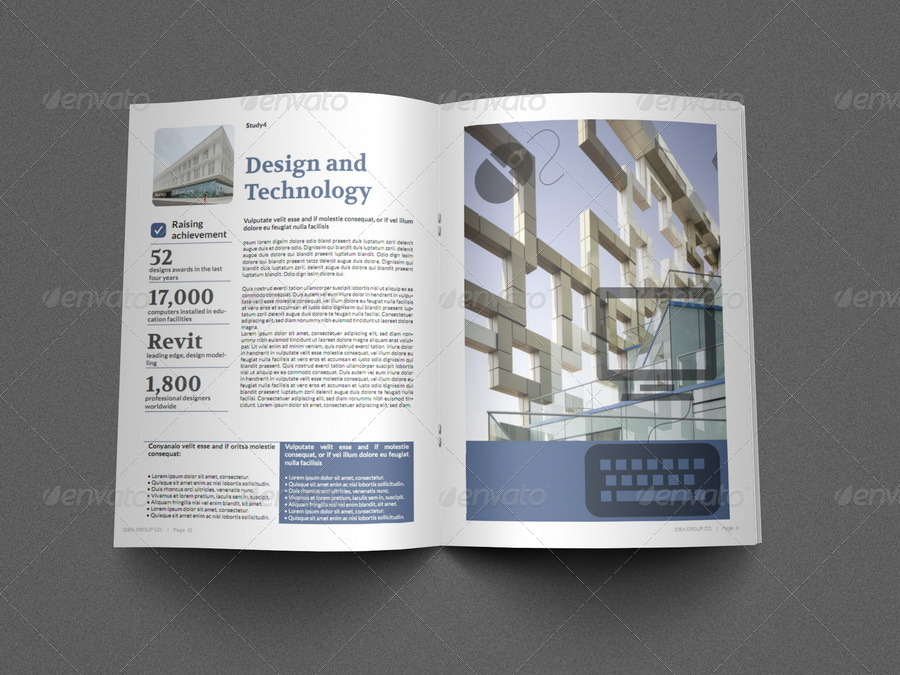 Education Brochure Template 16 Pages By Owpictures Graphicriver