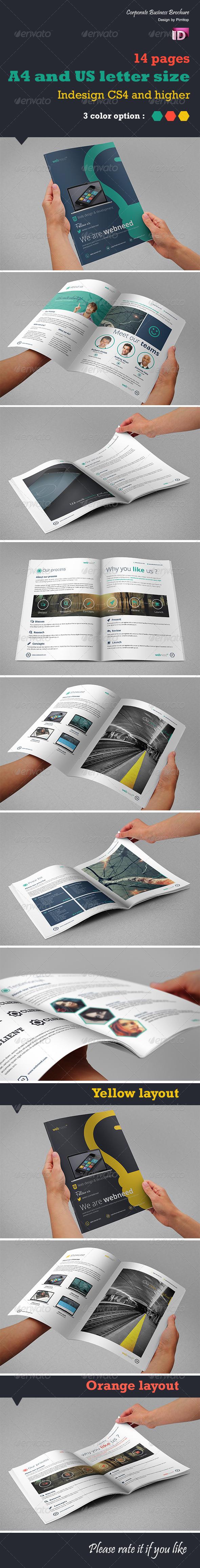 Corporate Business Brochure - Web need - Corporate Brochures
