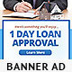 Home Loan Web Banner Design Template - GraphicRiver Item for Sale