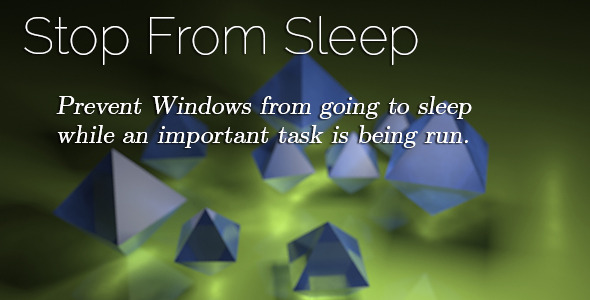Stop From Sleep - CodeCanyon Item for Sale