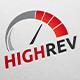 High Rev Speedo Logo
