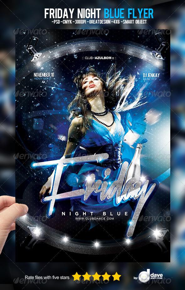 blue flyer