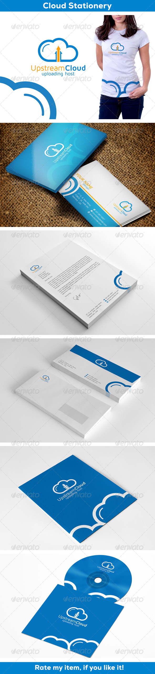 CLoud - Stationery Print Templates