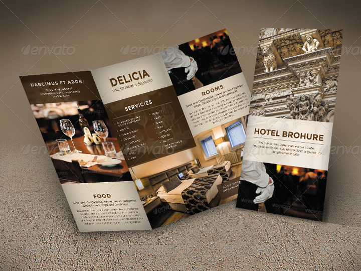 hotel trifold brochure by sz81