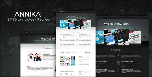 Free Download Annika - Portfolio or Business theme Nulled Latest Version