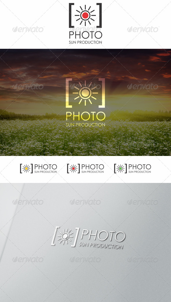 Sun Photo Logo - Symbols Logo Templates