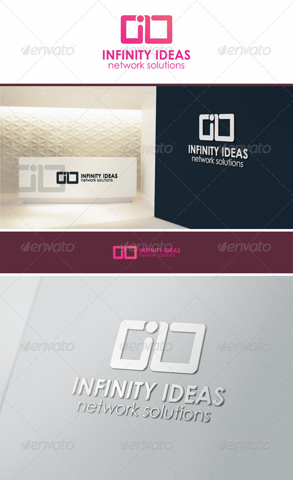 Infinity Ideas Logo Symbol - Symbols Logo Templates