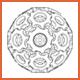 Contour Line Render of 3D Gears - GraphicRiver Item for Sale