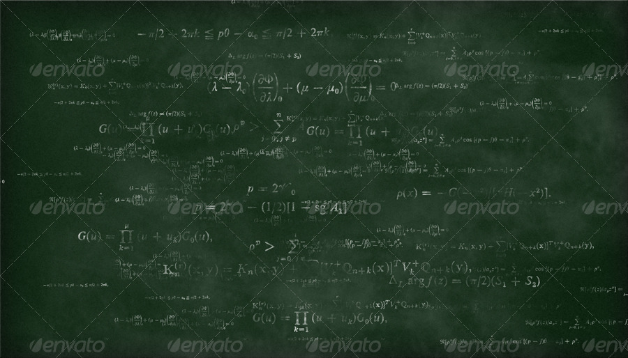 math formulas chalkboard backgrounds by criscx22 graphicriver