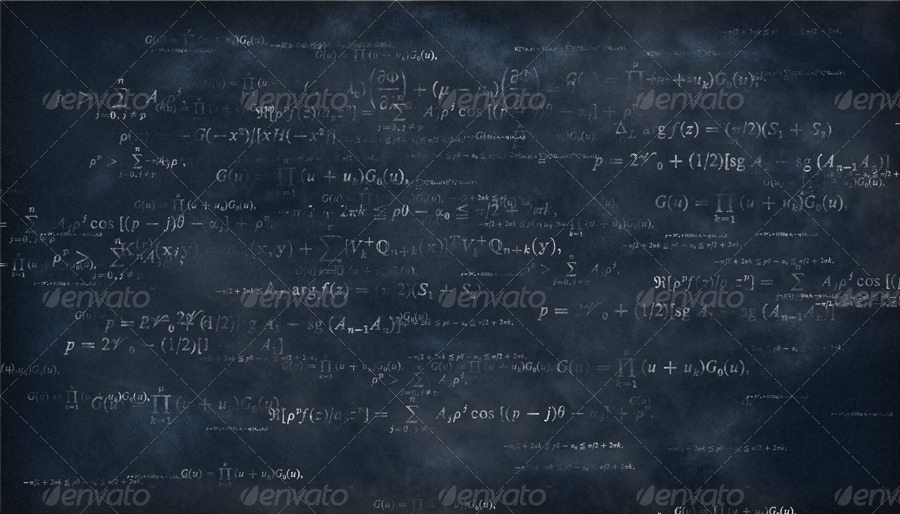 Math Formulas Chalkboard Backgrounds by CRIScx22 | GraphicRiver