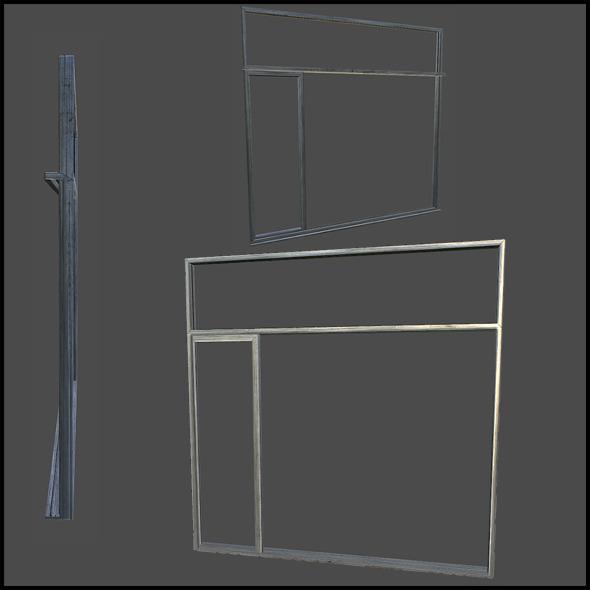 Metal Door Frame - 3DOcean Item for Sale