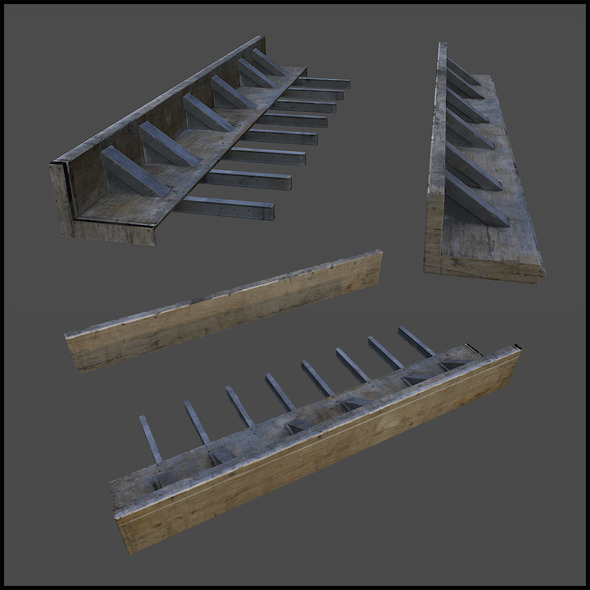 Construction Site Endings - 3DOcean Item for Sale