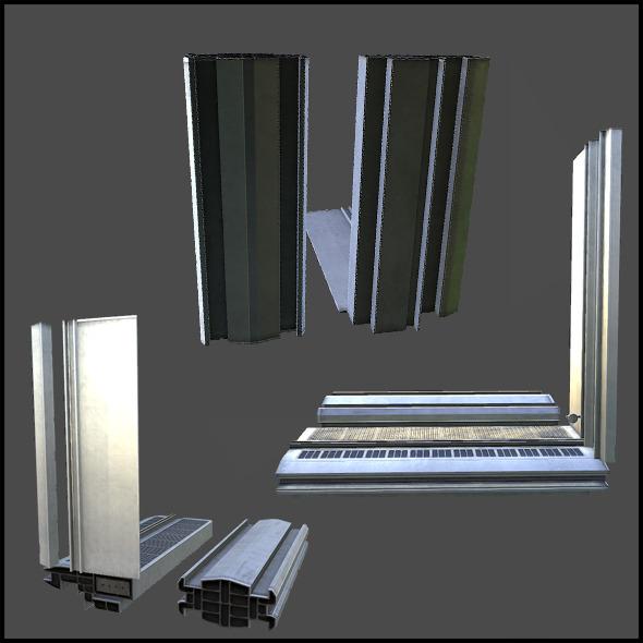 Facade Set 01 - 3DOcean Item for Sale