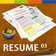 GD SoftColor Resume 03 - GraphicRiver Item for Sale