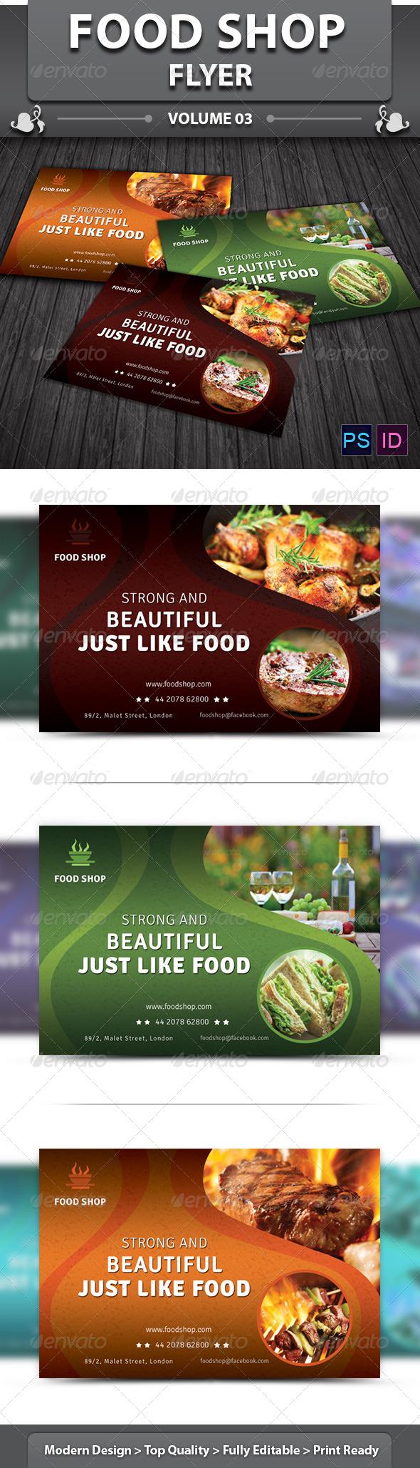 Restaurant Business Flyer | Volume 13 - Restaurant Flyers