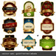 Gold-Framed Labels - GraphicRiver Item for Sale