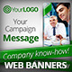Business Campaign Web Banners - GraphicRiver Item for Sale