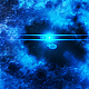 Travel Through Abstract Blue Nebula in Outer Space - VideoHive Item for Sale