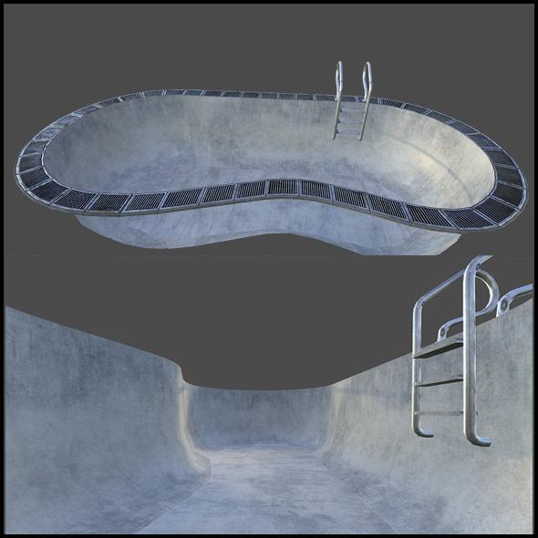 Indoor Swimming Pool - 3DOcean Item for Sale