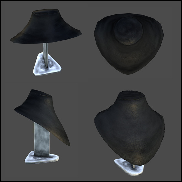 Shop Interior Elements - 3DOcean Item for Sale