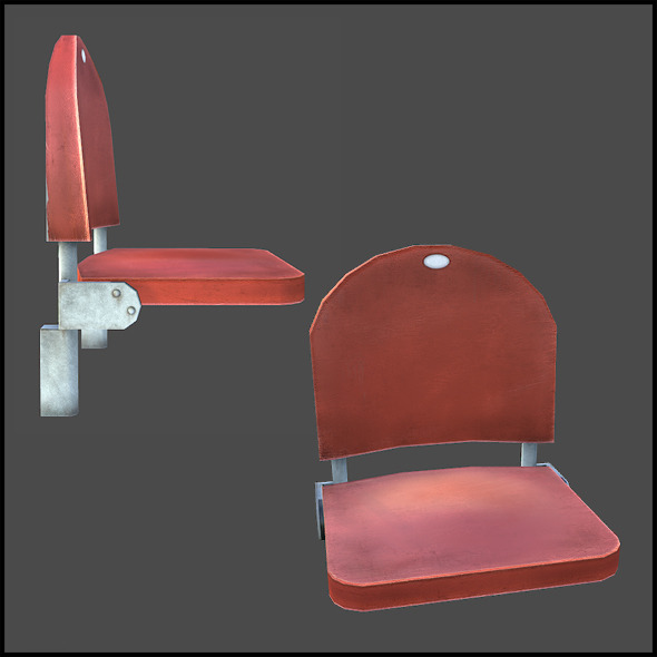 Stadium Seats - 3DOcean Item for Sale